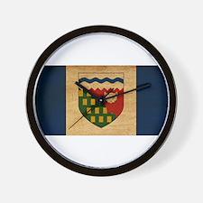 Northwest Territories Flag Wall Clock