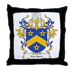 Van Neck Coat of Arms Throw Pillow