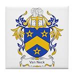 Van Neck Coat of Arms Tile Coaster