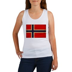 Norway Flag Women's Tank Top