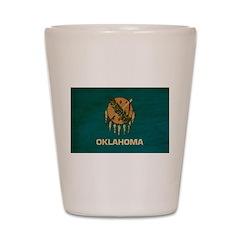 Oklahoma Flag Shot Glass