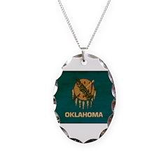 Oklahoma Flag Necklace