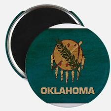 """Oklahoma Flag 2.25"""" Magnet (100 pack)"""