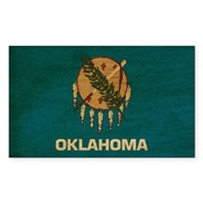 Oklahoma Flag Decal