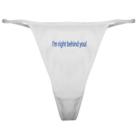 '...Behind You' Classic Thong