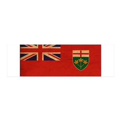 Ontario Flag 42x14 Wall Peel