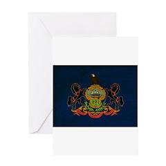 Pennsylvania Flag Greeting Card