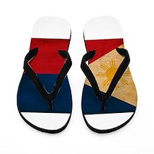 Philippines Flag Flip Flops