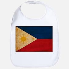 Philippines Flag Bib