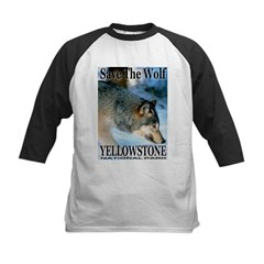 Save The Wolf YNP Large Print Tee