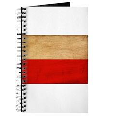 Poland Flag Journal