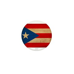 Puerto Rico Flag Mini Button