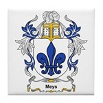 Meys Coat of Arms, Family Cre Tile Coaster