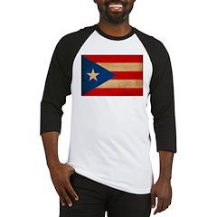 Puerto Rico Flag Baseball Jersey