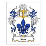 Meys Coat of Arms, Family Cre Small Poster