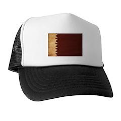 Qatar Flag Trucker Hat