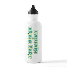 Captain Brain Fart Water Bottle