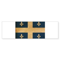 Quebec Flag Sticker (Bumper 10 pk)