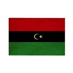 Republic of Libya Flag Rectangle Magnet (10 pack)