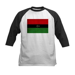 Republic of Libya Flag Kids Baseball Jersey