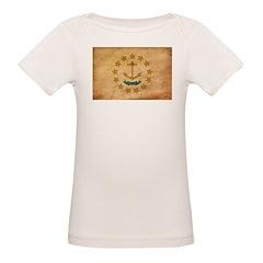 Rhode Island Flag Organic Baby T-Shirt