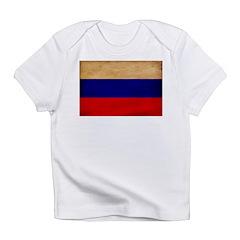 Russia Flag Infant T-Shirt