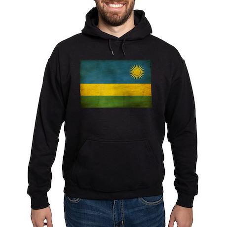 Rwanda Flag Hoodie (dark)