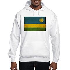 Rwanda Flag Hoodie