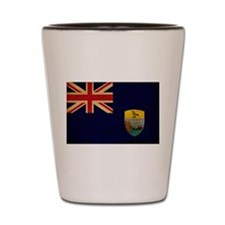 Saint Helena Flag Shot Glass