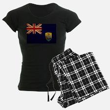 Saint Helena Flag Pajamas