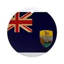Saint Helena Flag Ornament (Round)