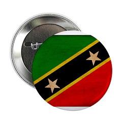 "Saint Kitts Nevis Flag 2.25"" Button (100 pack)"