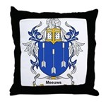Meeuws Coat of Arms Throw Pillow