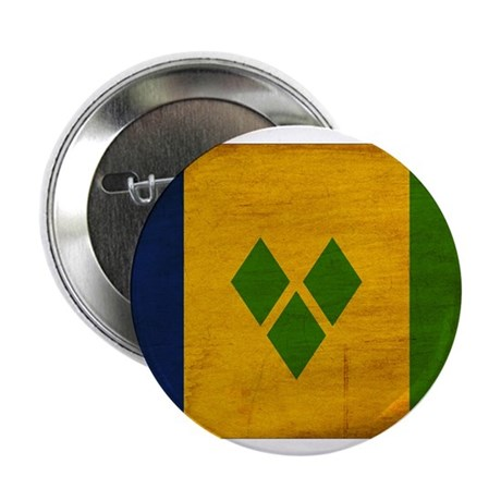 "Saint Vincent Flag 2.25"" Button (10 pack)"