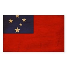 Samoa Flag Decal