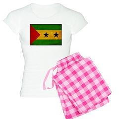 Sao Tome and Principe Flag Pajamas
