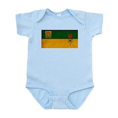 Saskatchewan Flag Infant Bodysuit