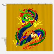 Year of the Dragon Shower Curtain