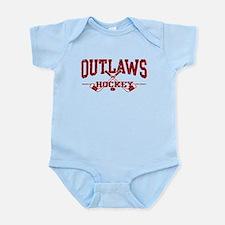 Outlaws Hockey Infant Bodysuit