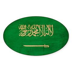 Saudi Arabia Flag Decal