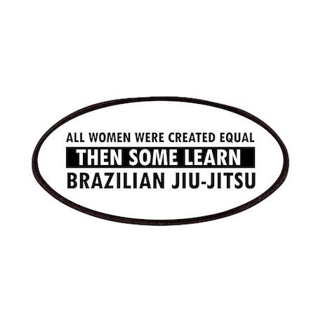 Brazilian Jiu-Jitsu design Patches