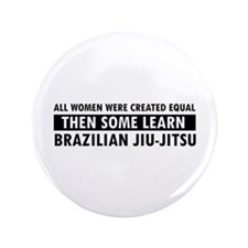 "Brazilian Jiu-Jitsu design 3.5"" Button"