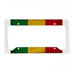 Senegal Flag License Plate Holder