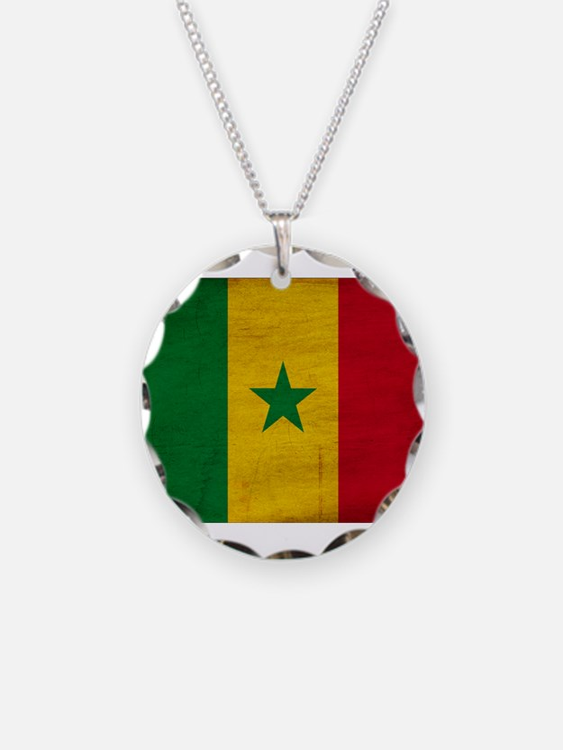 Senegal Flag Necklace