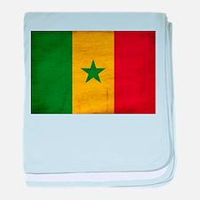 Senegal Flag baby blanket