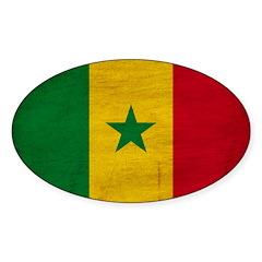 Senegal Flag Decal