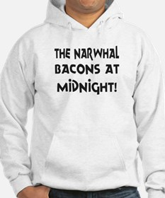 Narwhal Bacons at Midnight Hoodie