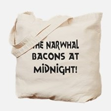 Narwhal Bacons at Midnight Tote Bag