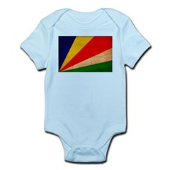 Seychelles Flag Infant Bodysuit