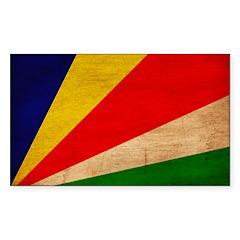 Seychelles Flag Decal